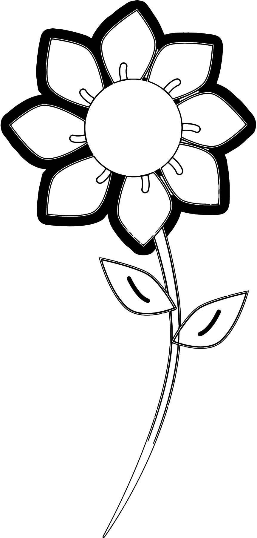 Flower Coloring Page Wecoloringpage 111