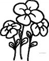 Flower Coloring Page Wecoloringpage 121