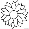 Flower Coloring Page Wecoloringpage 126