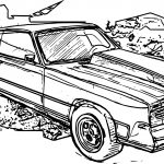 Gavril Barstow Kingsnake Car Coloring Page