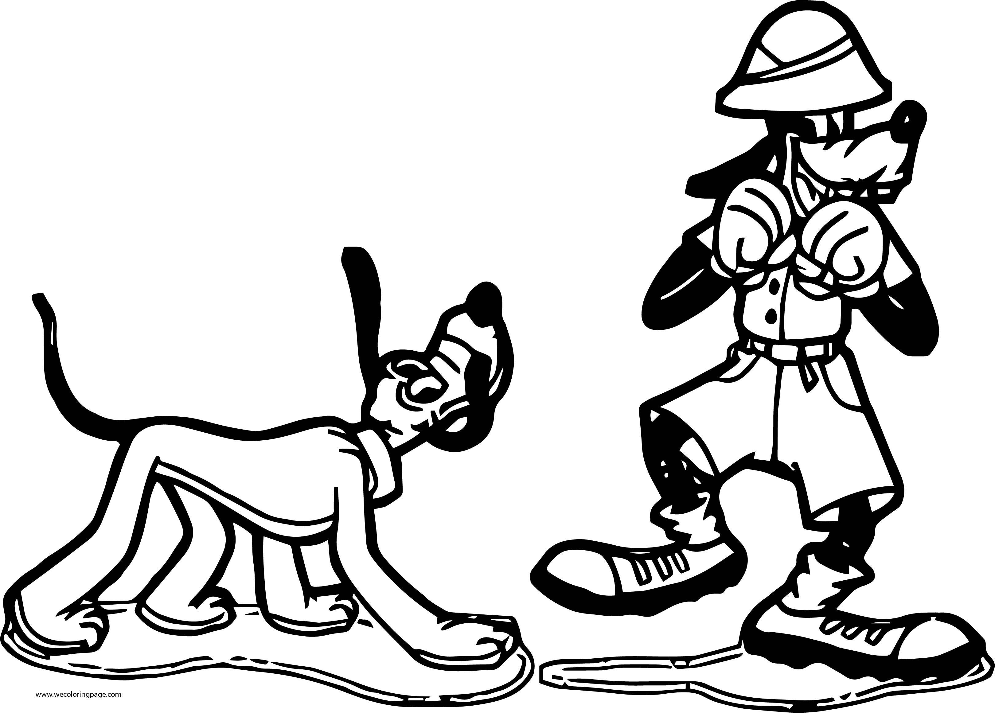Goofy Coloring Pages 62