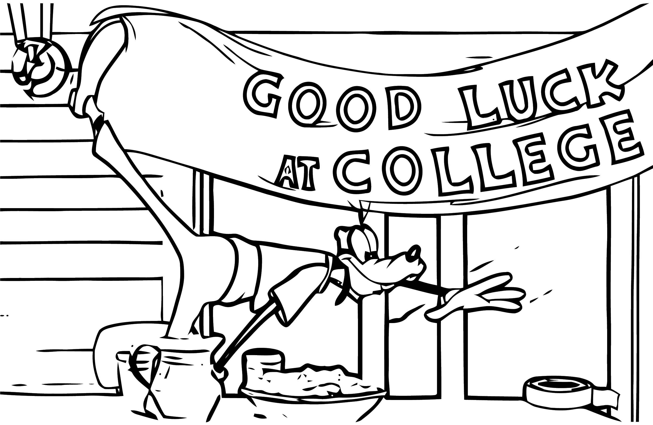 Goofy Coloring Pages 80