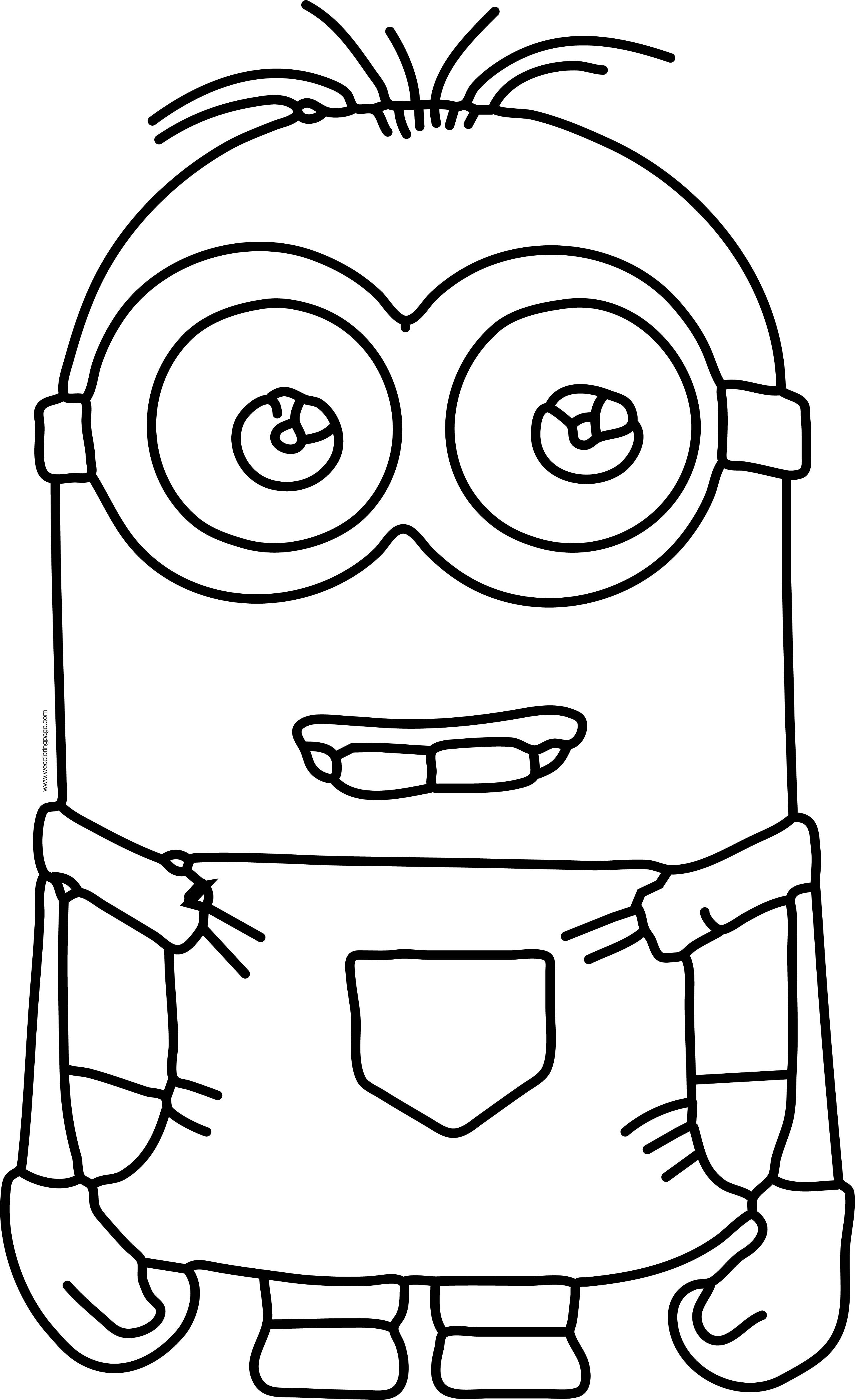 minion dave drawing