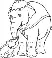 Jumbo 3 Coloring Pages