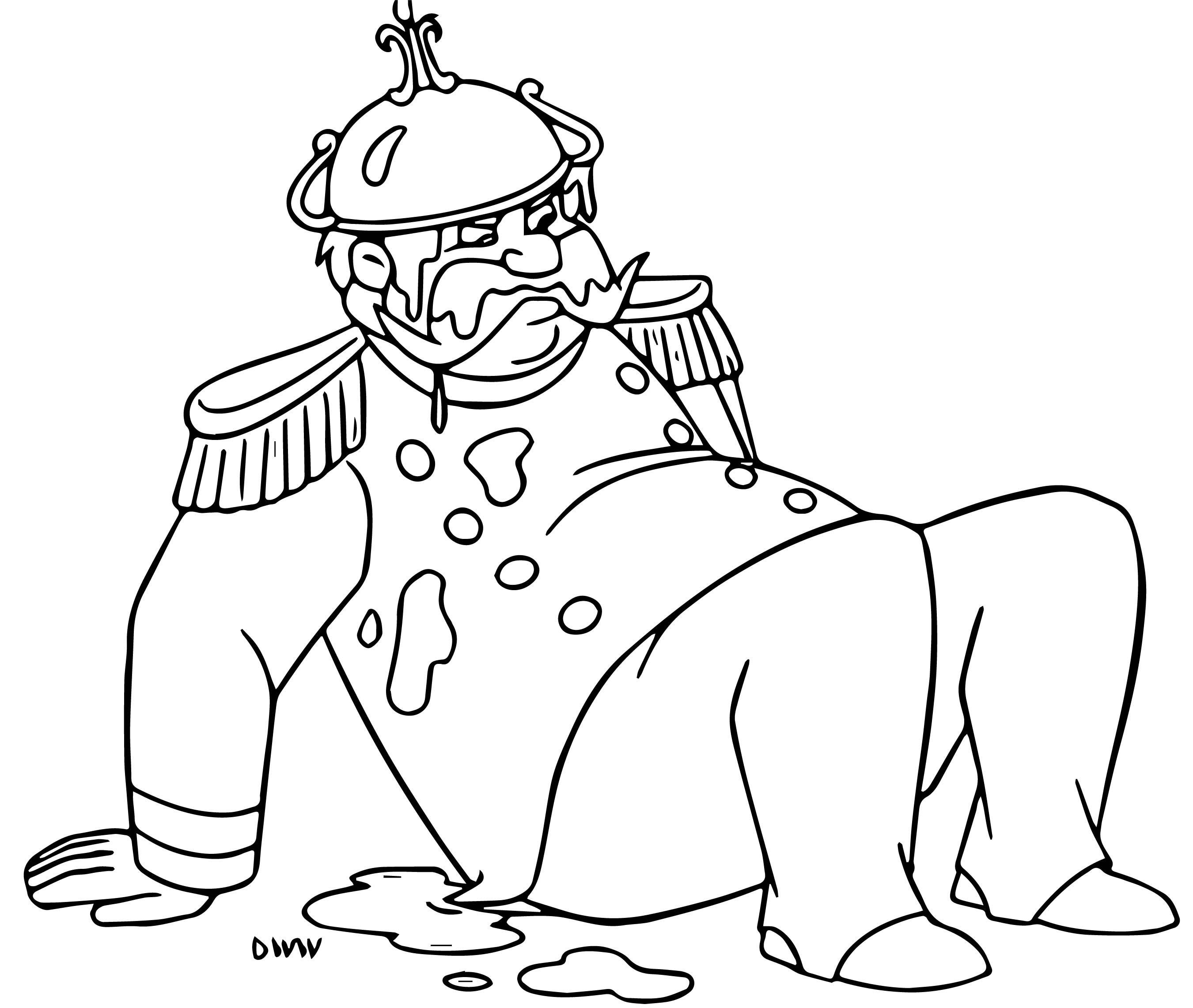 King 2 Coloring Page