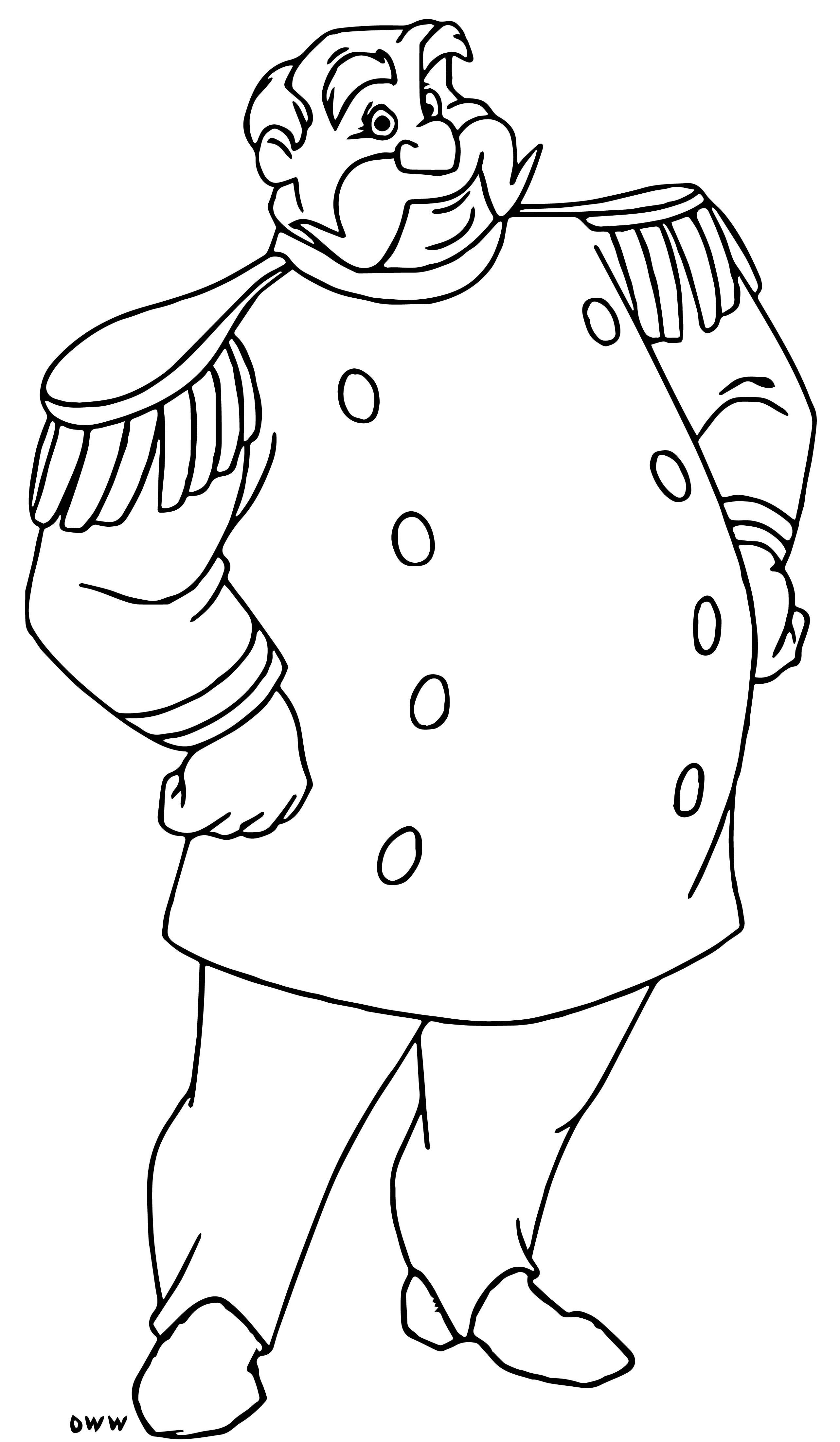 King 5 Coloring Page