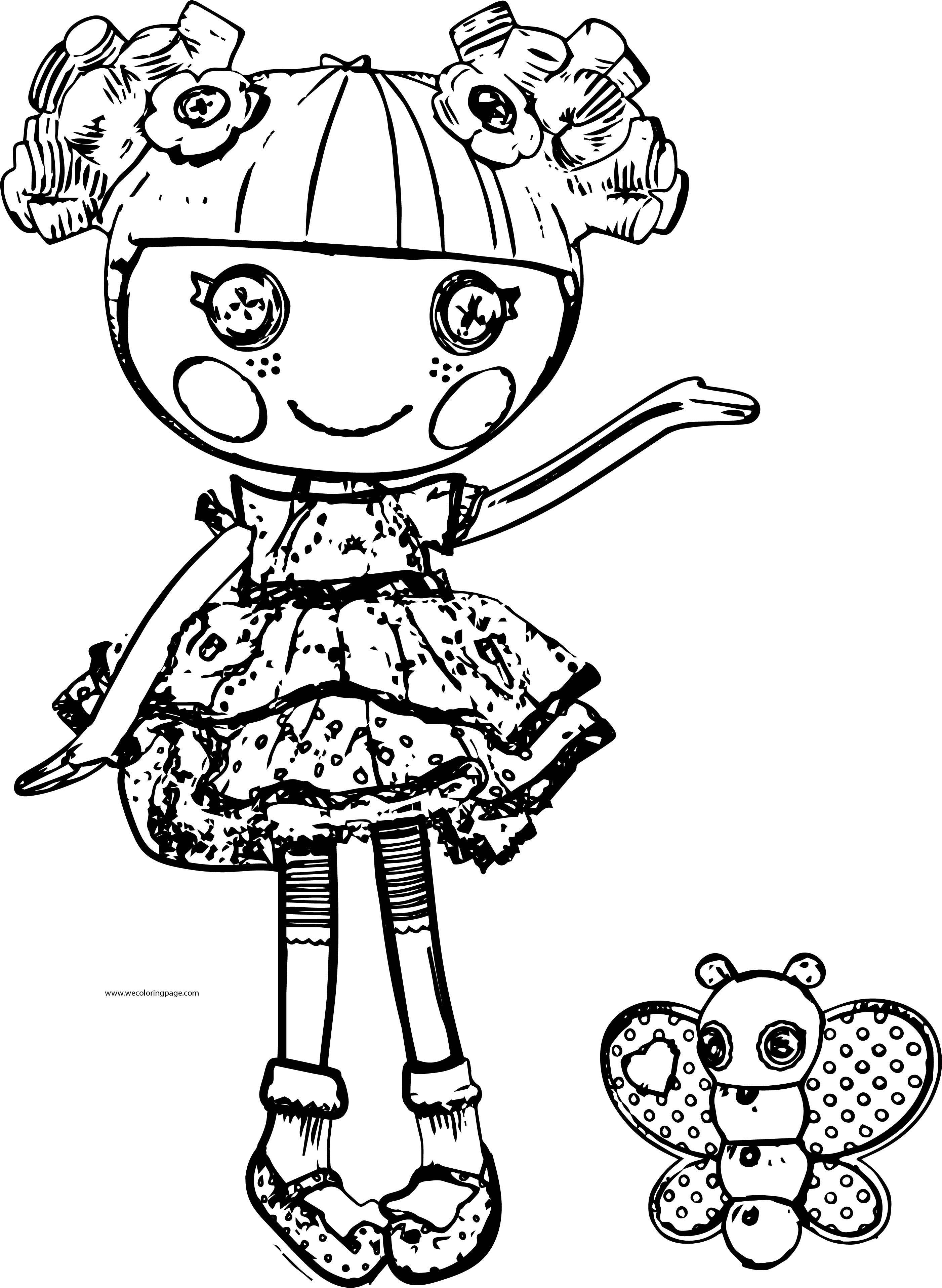 Lalaloopsy Dolls Lalaloopsy Coloring=page