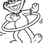 March 178 Sesame Street Coloring Page