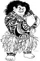 Maui Power Disney Coloring Page