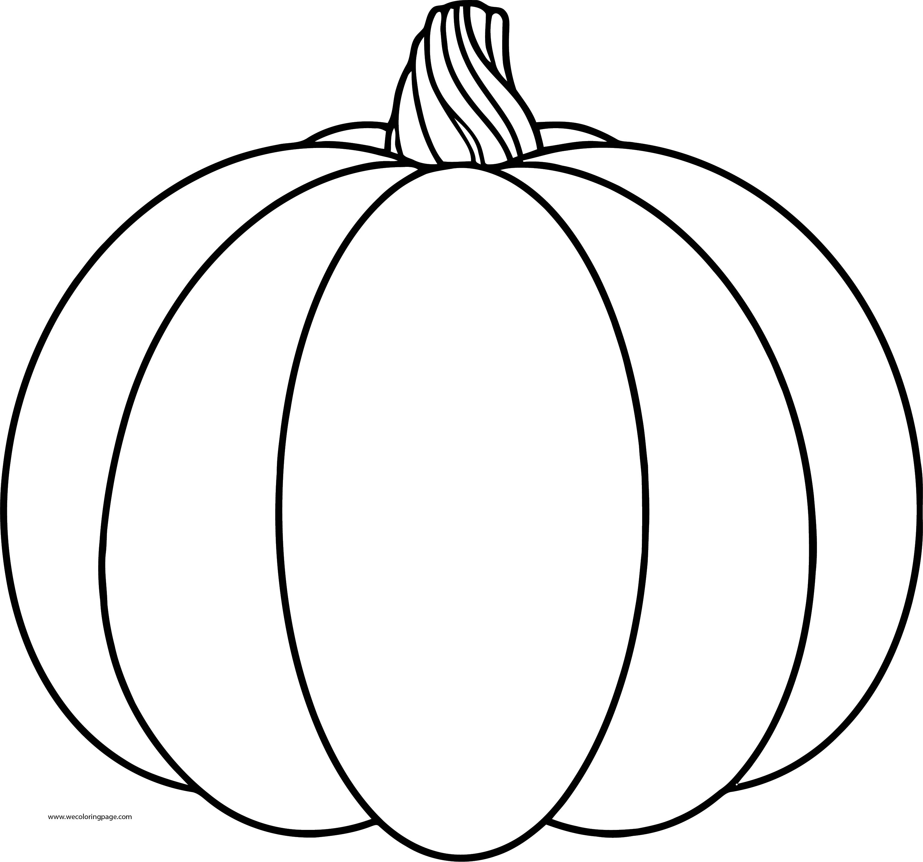 New Fall Pumpkin Coloring Page   Wecoloringpage.com