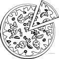 Pizza Coloring Page WeColoringPage 13