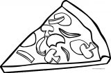 Pizza Coloring Page WeColoringPage 19