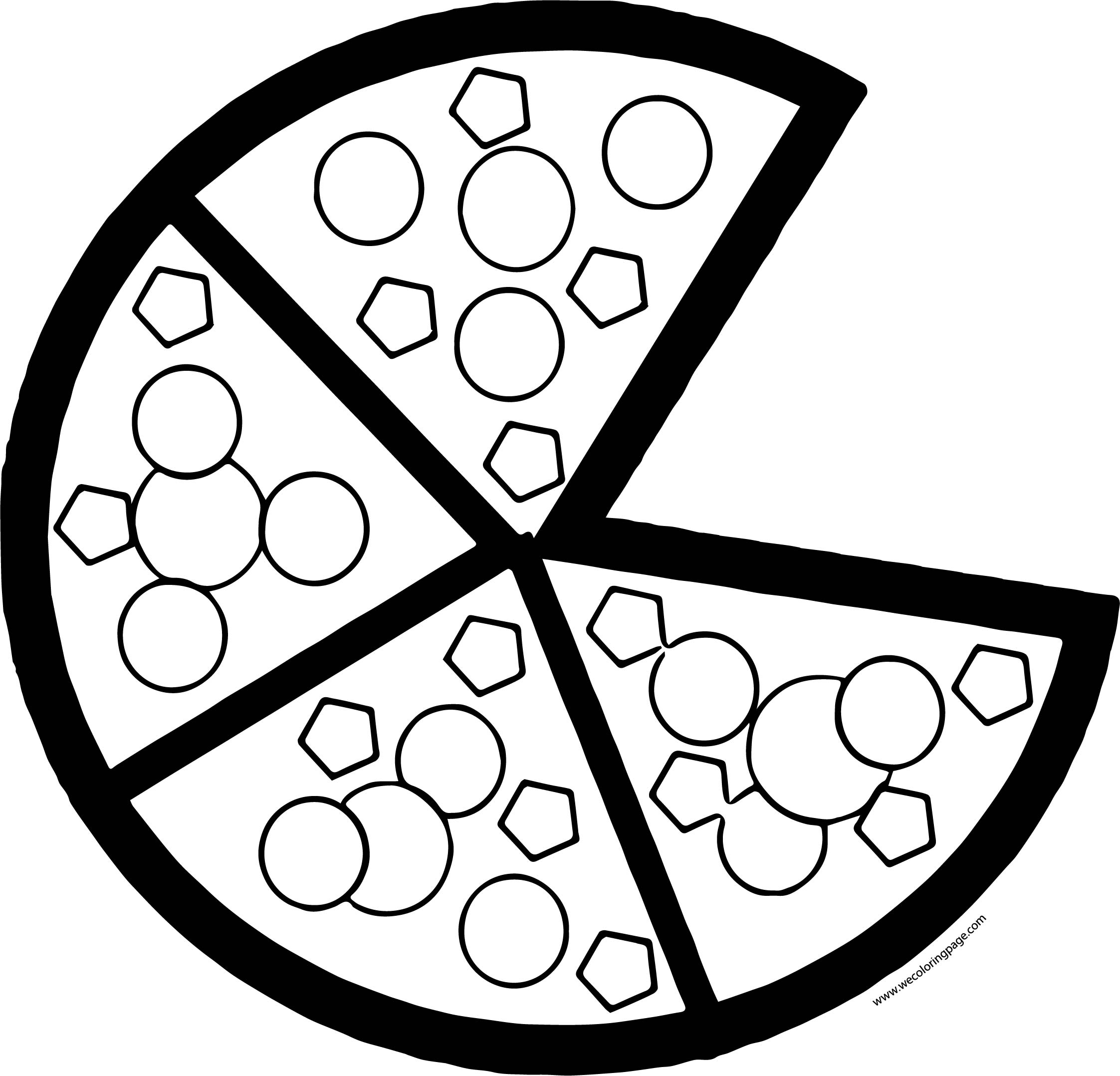 Pizza Coloring Page WeColoringPage 20