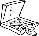 Pizza Coloring Page WeColoringPage 22