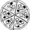 Pizza Coloring Page WeColoringPage 26