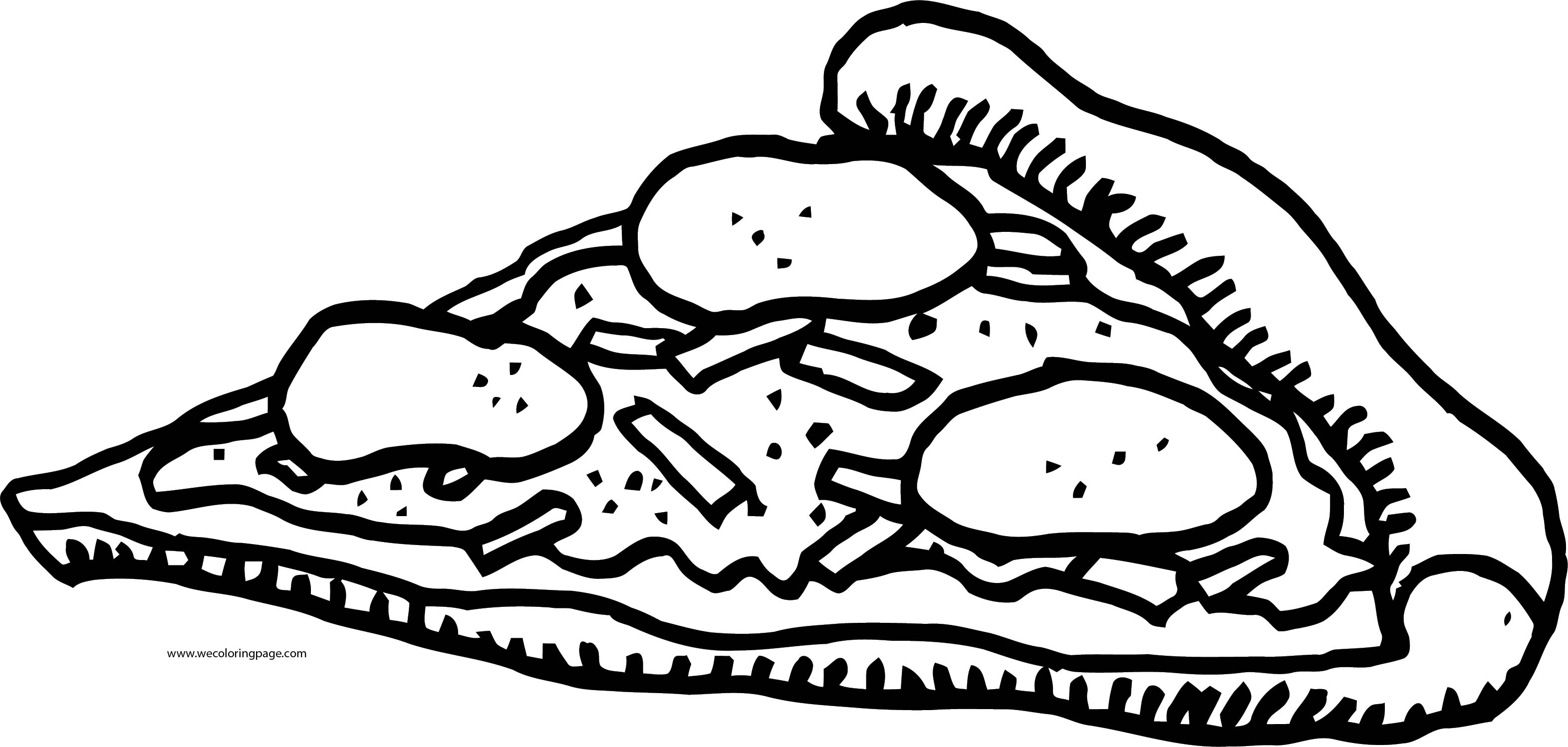 Pizza Coloring Page WeColoringPage 33