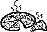 Pizza Coloring Page WeColoringPage 34