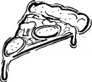 Pizza Coloring Page WeColoringPage 36