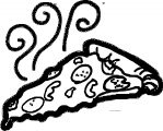 Pizza Coloring Page WeColoringPage 46