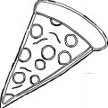 Pizza Coloring Page WeColoringPage 49