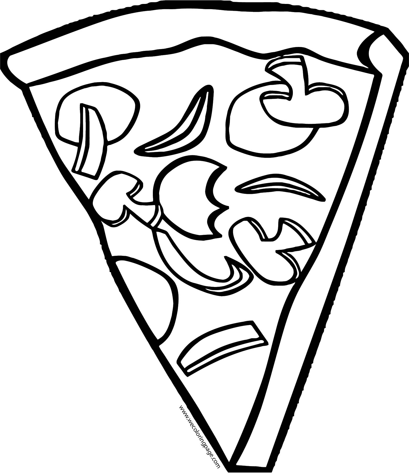 Pizza Coloring Page WeColoringPage 57