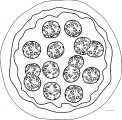 Pizza Coloring Page WeColoringPage 59