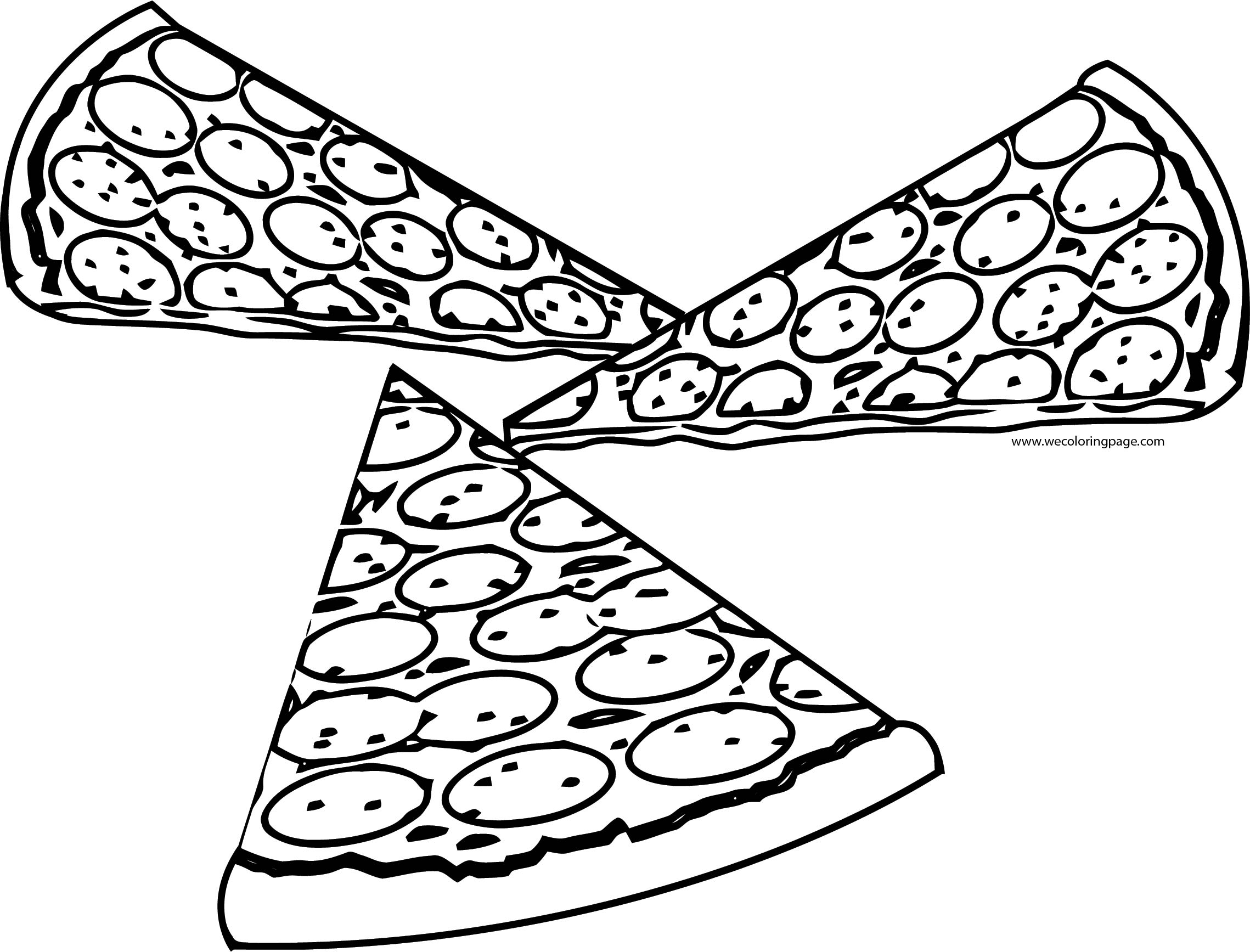 Pizza Coloring Page WeColoringPage 66