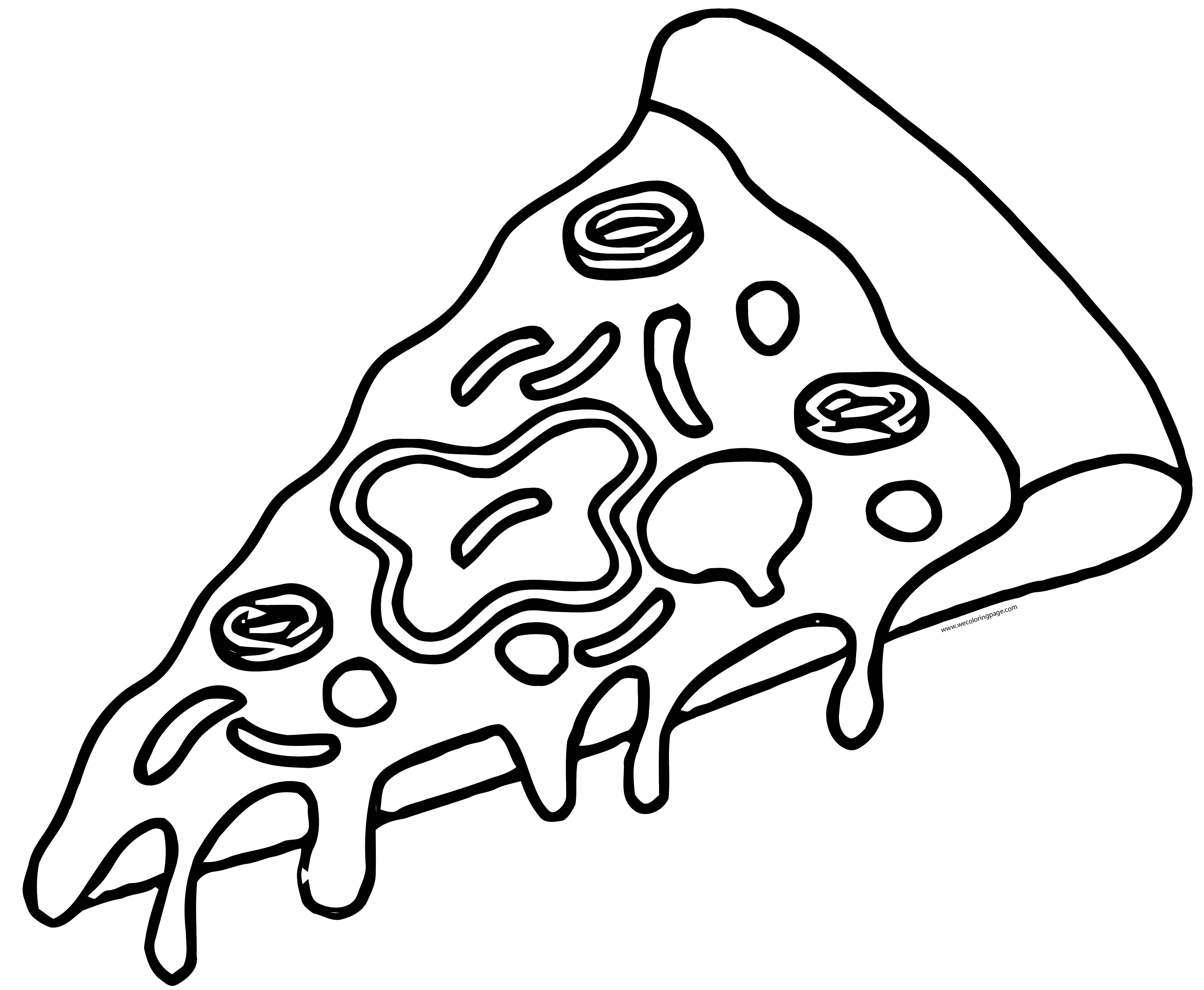 Pizza Coloring Page WeColoringPage 67