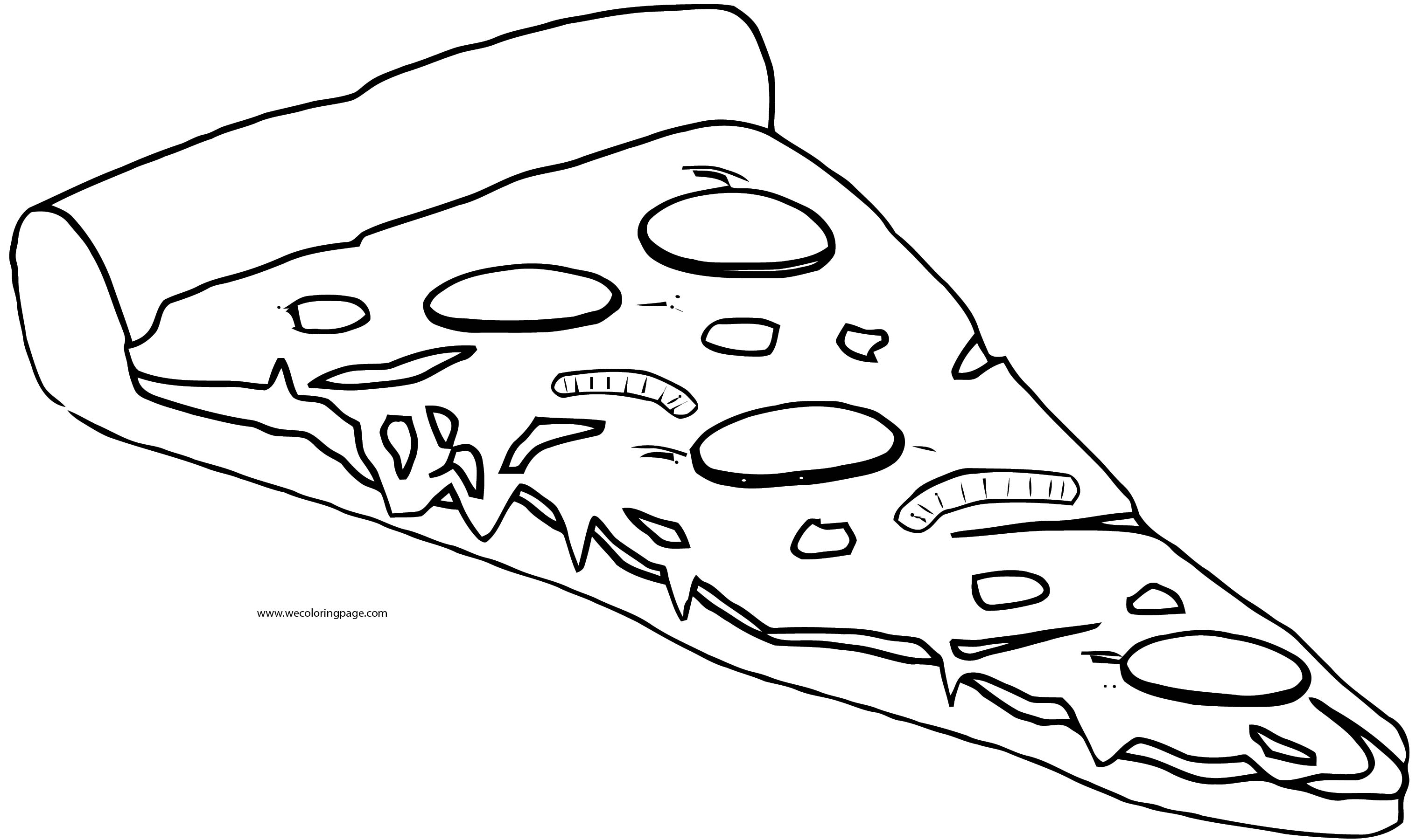 Pizza Coloring Page WeColoringPage 71