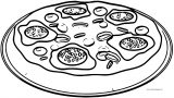 Pizza Epiphany Coloring Page