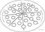 Pizza Whole Coloring Page