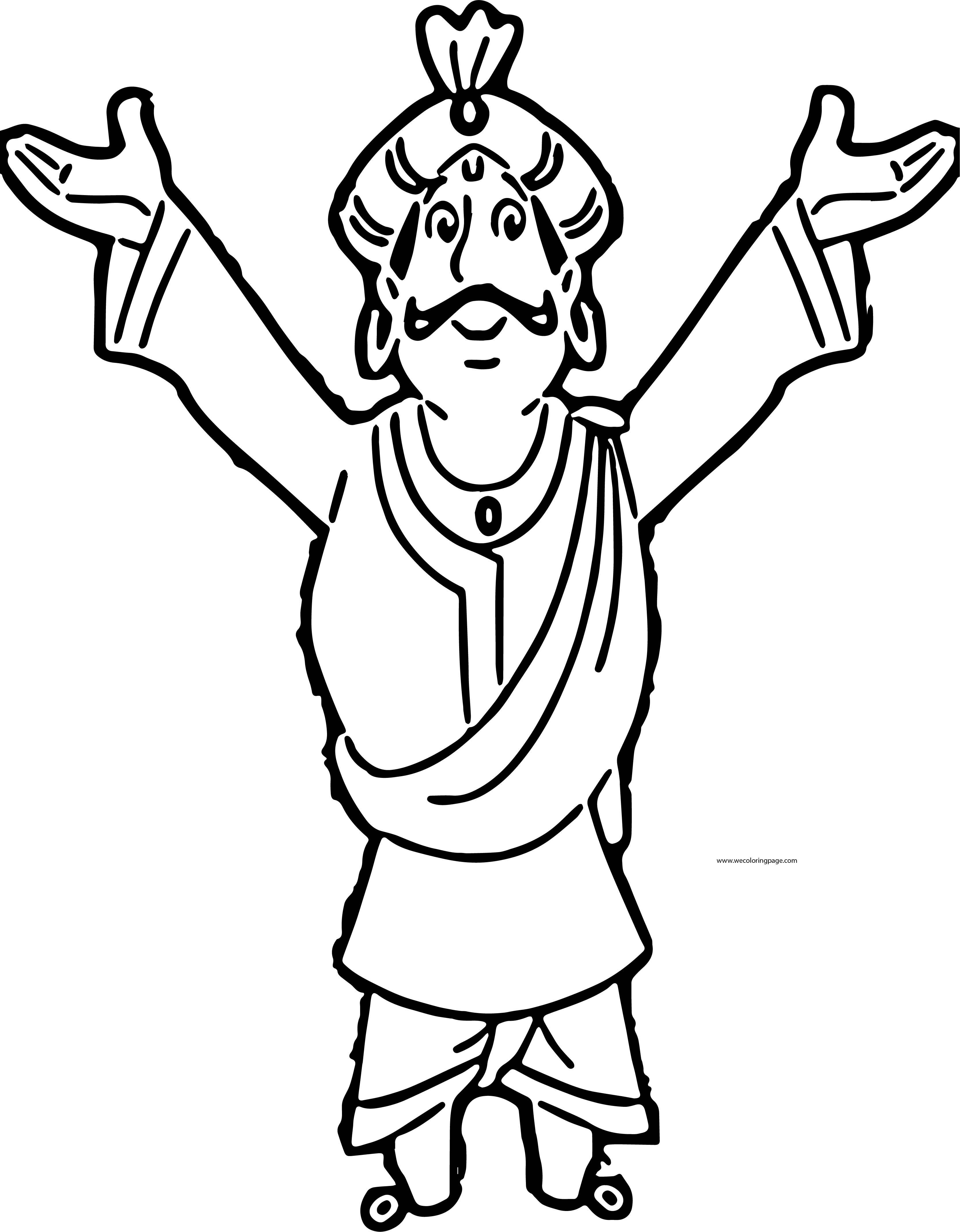 Raja Indraverma Inner Coloring Page