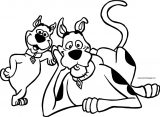 Scooby Doo And Scrappy Coloring Page
