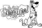 Scooby Doo Be Cool Coloring Page