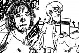 Scooby Doo Be Cool Scooby Doo Matthew Lillard Warner Brothers Everett Cartoon Network Coloring Page