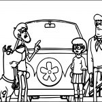 Scooby Doo Cartoon Coloring Page