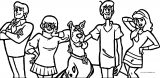 Scoobydoo Facebook Coloring Page