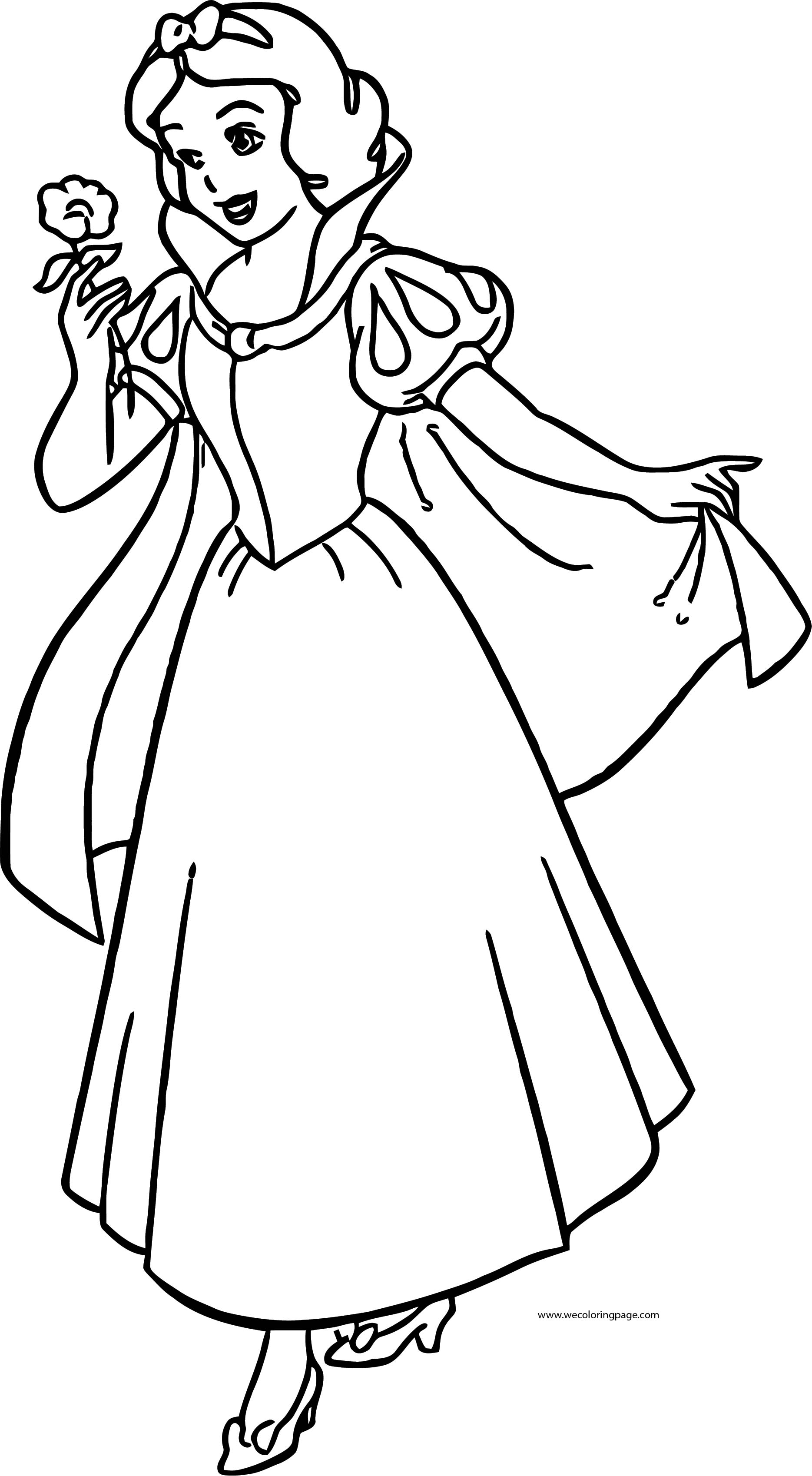 Snow White Coloring Page 056