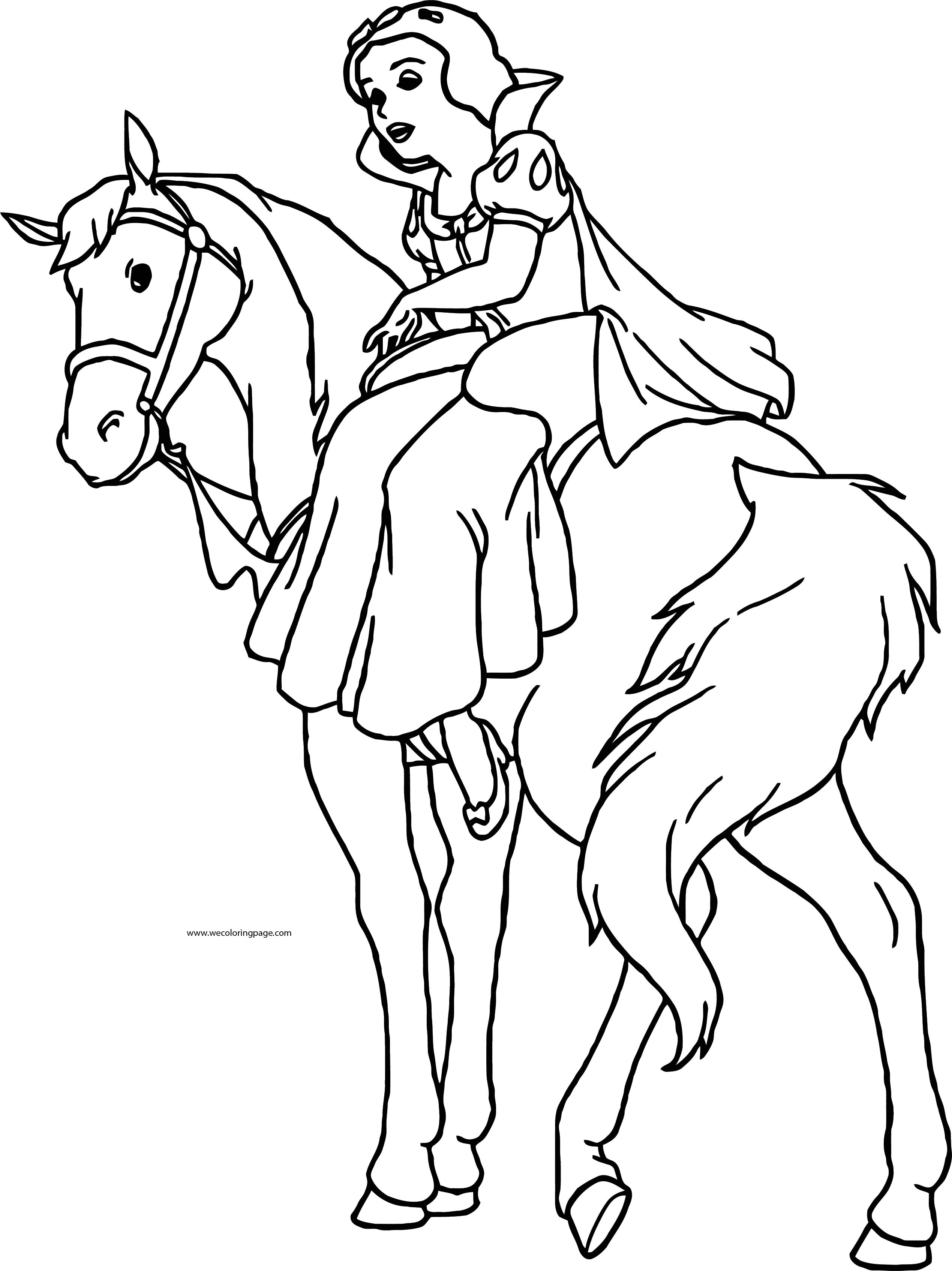 Snow White Coloring Page 061