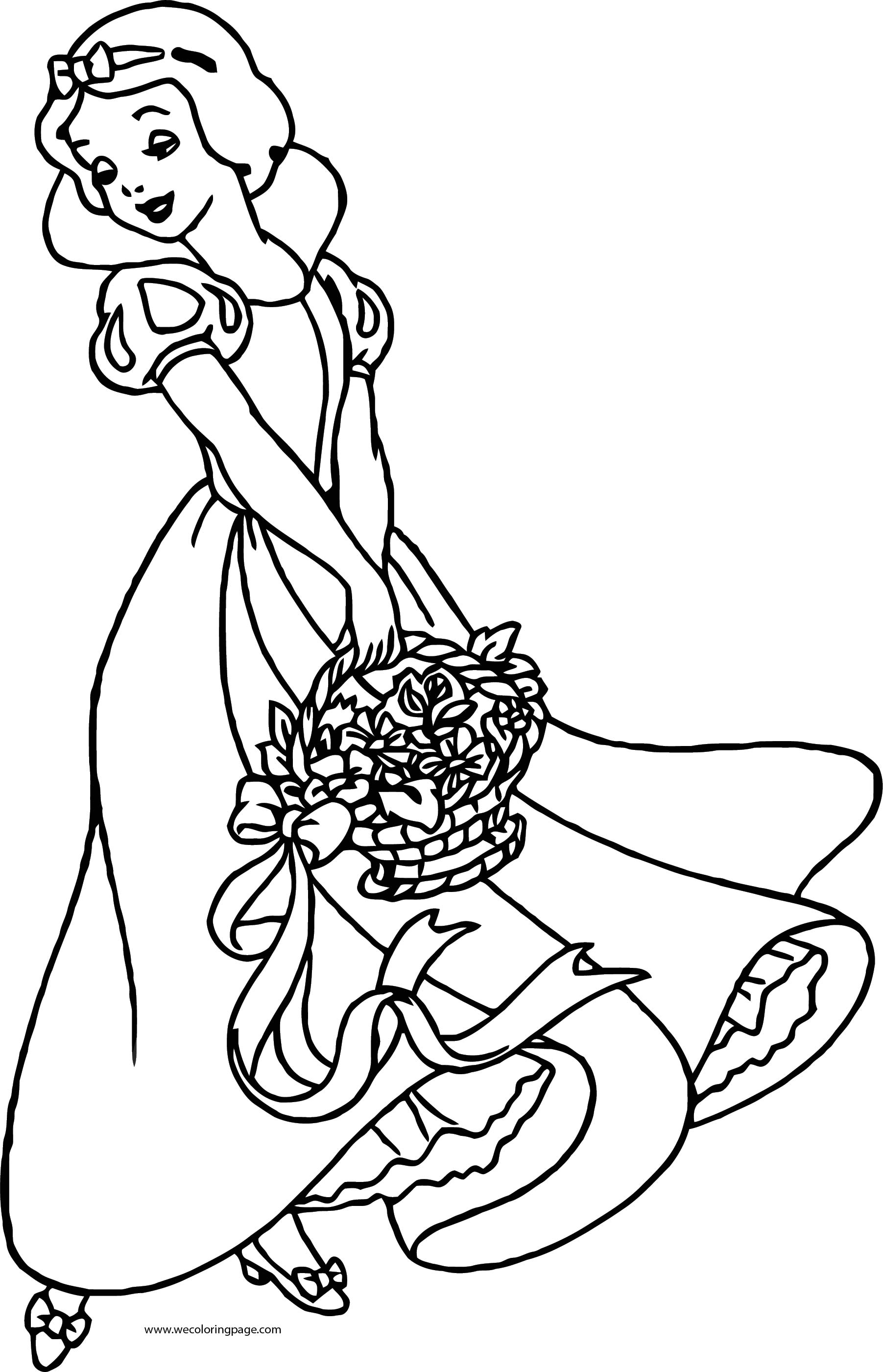 Snow White Coloring Page 065
