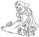 Snow White Coloring Page 069