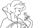 Snow White Coloring Page 077