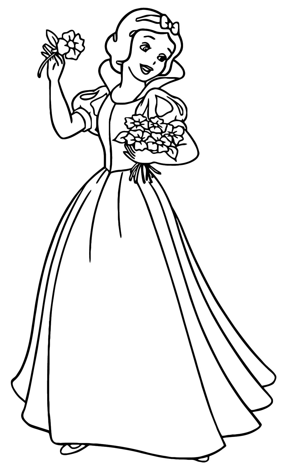 Snow White Coloring Page 087