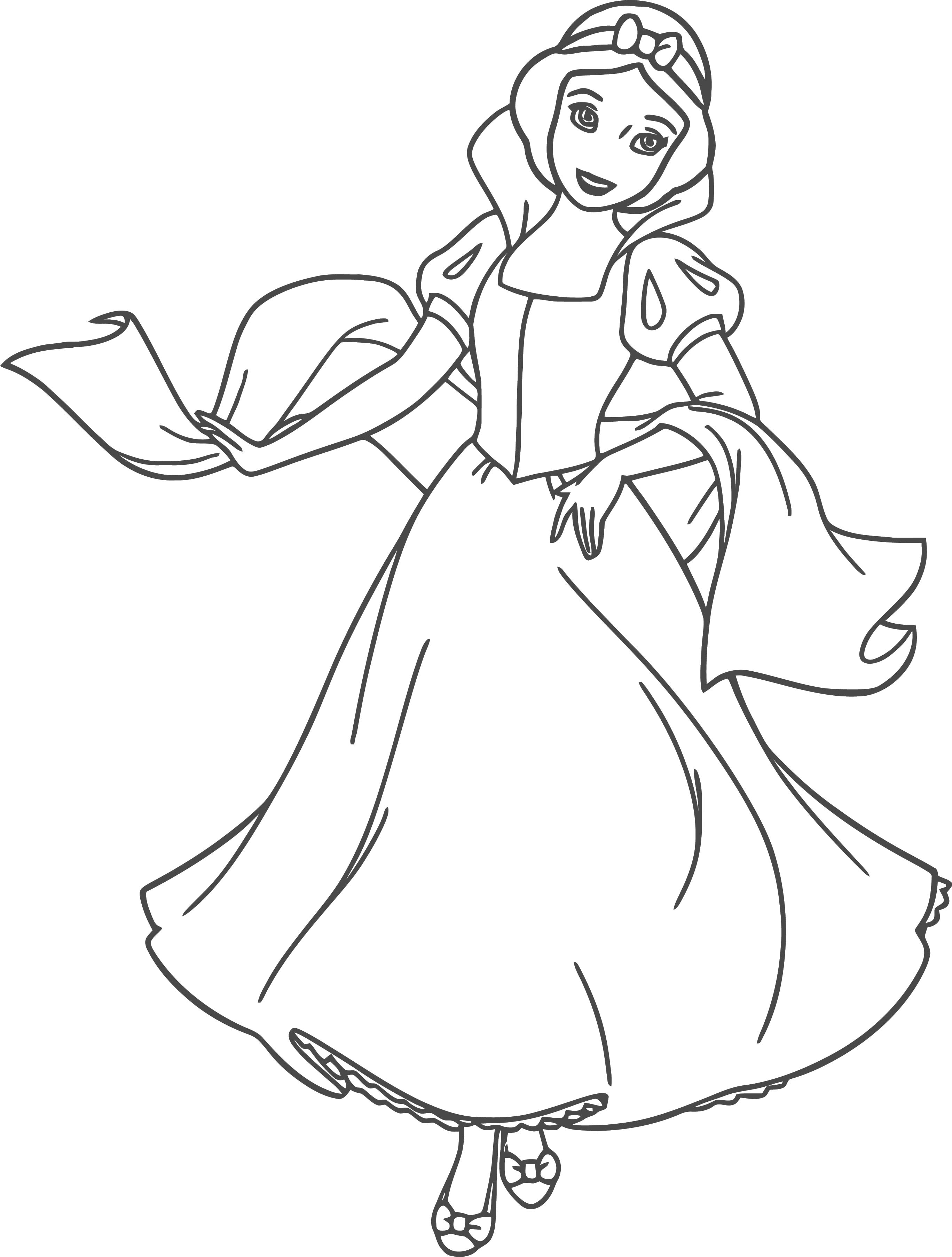 Snow White Coloring Page 089