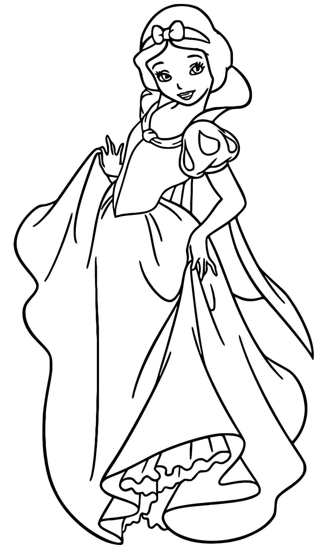 Snow White Coloring Page 093