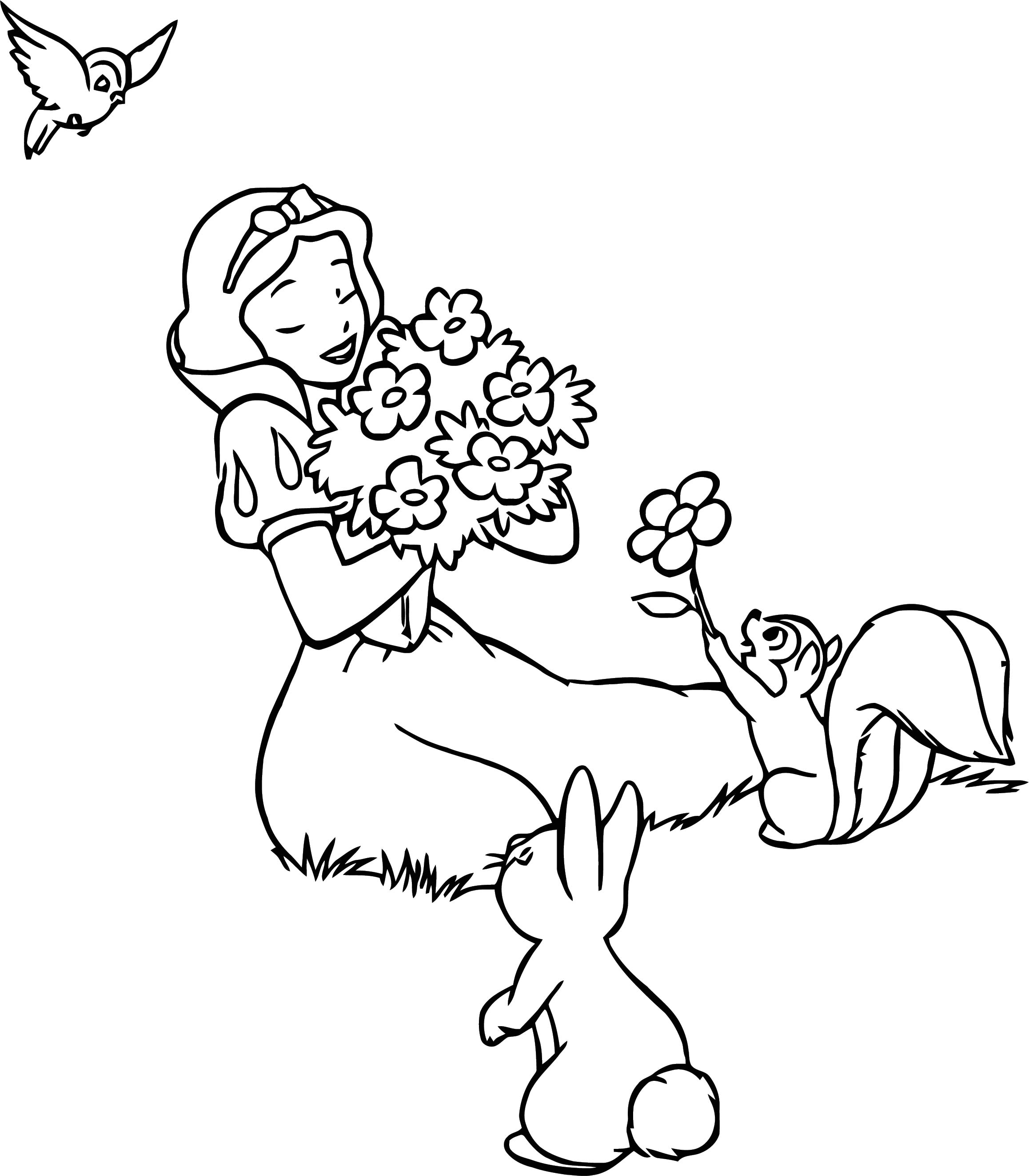 Snow White Coloring Page 101