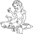 Snow White Coloring Page 102