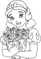 Snow White Roses Coloring Page