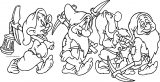 Snow White The Seven Dwarfs Coloring Page 19