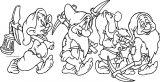 Snow White The Seven Dwarfs Coloring Page 19